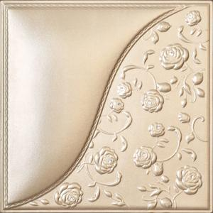 Building Material Carved Decorative Leather Padded Wall Panels D 024