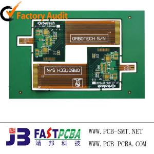 China FR-4,  CEM-3 0.2mm Thickness 6 Layer FPC Assembly Automatic Gate Electronic Circuit Board on sale