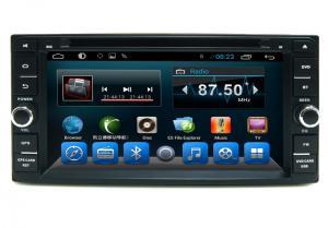 China Black 2 Din Car Dvd Player GPS Navigation System For Toyota Universal on sale