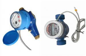 China High Precision Plastic M-Bus AMR Water Meter Remote Read Brass / PPO Material on sale