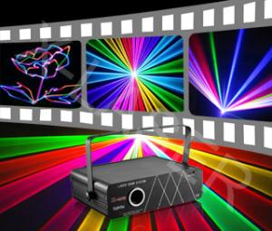 China 1.2WRGB full color laser projector RGB1200 on sale