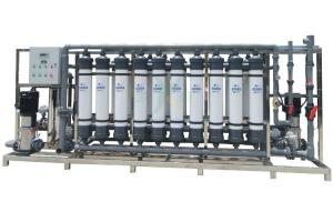China Industrial Ultra Filtration Water Treatment Plant 40Tph CE / ISO Approved on sale