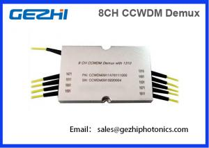 China 8CH CWDM Mux Demux CCWDM Module Compact Coarse Wavelength Division Multiplexer on sale