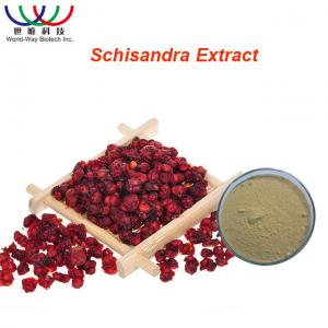 China Organic Schisandra Chinensis Extract Light Yellow Powder Schisandra Active Ingredients on sale