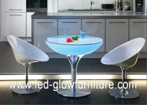 Acrylic Led Cocktail Table Lights Color Changing Illuminated - Led coffee table for sale