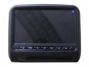 China HD Detachable Headrest DVD Monitor Slot-in Car Back Seat DVD Player With Bracket on sale