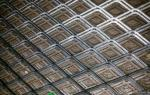 Hot Dipped Galvanized Expanded Wire Mesh Sheet With High Tensile Strength