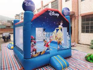 China Kids Outdoor Inflatable Bouncer Disney Princess Moonwalks For Event / Festival on sale