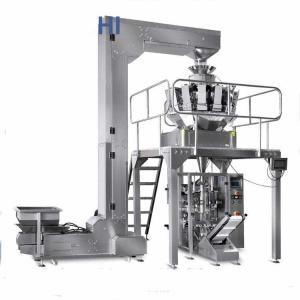 China Automatic Packaging beans Crisps low cost pouch packing machine,Automatic Sugar multihead weigher packing machine on sale