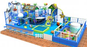 China best selling kids ocean indoor playground soft play area with electronic games on sale