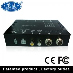 China Realtime Video Audio Input 4 Channel Car DVR Recorder With Remote Controller on sale