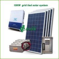 15kw PV Grid Tied Solar Power System , Efficiency Solar Mounting System