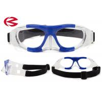 Removable Silicone Durable Safety Basketball Protective Goggles OEM Strap