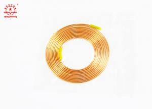 China Soft Temper Copper Pancake Coil Pipe High Strength For HVAC OEM Accepted on sale