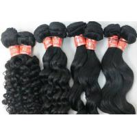 China 30 Inch Virgin Cambodian Hair / Virgin Curly Hair Extensions Long Hair on sale