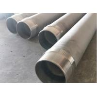 China Stainless Steel Seamless Casing Pipe With Male / Female Threaded End on sale