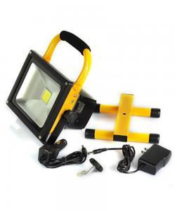 China 5 Watt Rechargeable LED Flood Light  Cool White 120° Beam Angle on sale