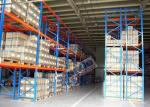 Revêtement de poudre de rayonnage de support de palette de charge maximum de 2500 kilogrammes pour des centres serveurs de distribution de tiers