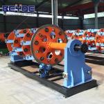 China 400-36 bobbins planetary closing machine planetary type stranding machine wholesale