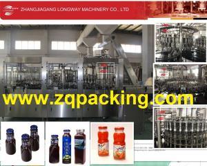 China Glass Bottle Metal Cap Hot juice Pulp Filler (Washer ,Pulp Filler ,Juice Filler ,Capper ) on sale