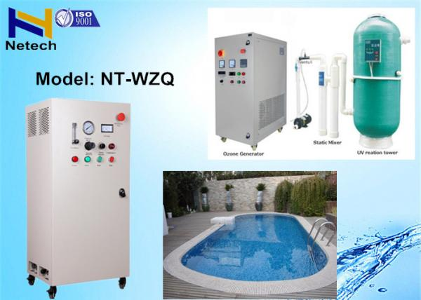 5 - 40G/Hr Air Cooling Swimming Pool Ozone Generator With ...