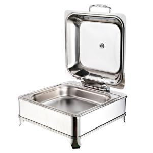 China Soup Kettle With Legs, Restaurant Catering Food Warmer, Chafing Dish 1804 on sale