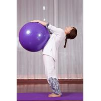 China PVC Yoga Ball for trainers Premium gymnastic yoga exercise ball fitness ball on sale
