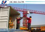 60m Jib QTP6020 Flat Top Tower Crane Price for Heavy Equipment Construction