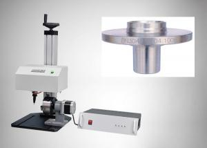 China Automatic Flat Dot Peen Marking Machine 150 × 100mm Area For Plastic Nameplate on sale
