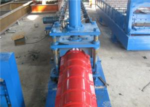 China Color Steel Metal Ridge Cap Forming Machine1Chain Transmission High Speed on sale