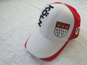 China Logo Customized College Baseball Caps With Plastic Buckle, Cool Embroidered Acrylic / Cotton Baseball Caps on sale