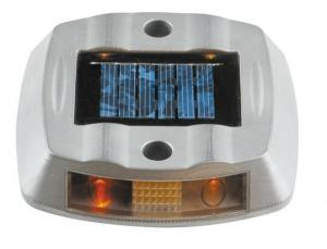 China Solar Road Stud +100% powered by sunlight + solar aluminum casting spike LED traffic light on sale