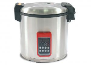 China Multifunctional Stainless Steel Electric Rice Cooker With Precise Temperature Control on sale