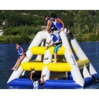 fun inflatable water game, floating water slide, sports water inflatables for lake