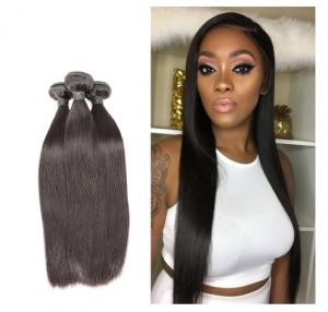 China Healthy And Thick End 100% Indian Remy Human Hair Weave Natural Color For Ladies on sale