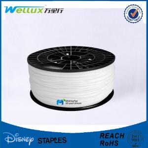 China ABS Plastic 1.75mm / 3.00mm 3D Printing Filament for 3D Printer ROHS Approval on sale
