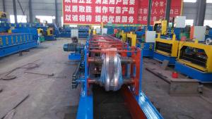 China Motor Interchangeable CZ Purlin Roll Forming Machine 18 - 20 Mpa Hydraulic Pressure on sale