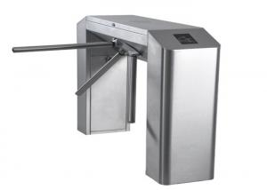 China Auto Security Bridge Tripod Turnstile Gate With IC / ID Card Readers on sale