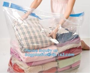 China Compression Bag Space Saving, compressible vacumm seal storage bag, vacuum traveling bag without valve, bagease, bagplas on sale