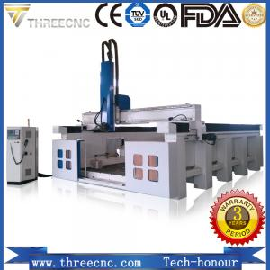China big size ATC 3d CNC router , wood working cnc router with carousel auto tool changer TM2040S THREECNC on sale
