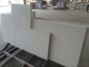 China Natural Straight  / Corner Tops Custom Marble Countertops , Hard Marble Stone Top on sale