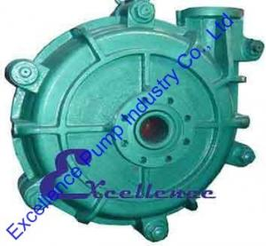 China High Head Metal Lined Industrial Centrifugal Slurry Pump For Gold Mine on sale