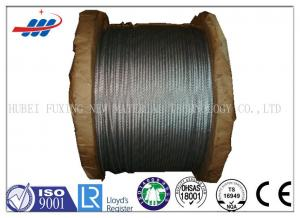 China 6*7+FC High Carbon Galvanized Wire Rope 1570-1770MPA Tensile Strength on sale