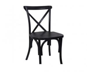 China Resin Plastic China Dining Crossback Chair on sale