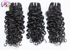 China Unprocessed Remy Human Hair Clip In Extensions , Easy To Dye Philippines Virgin Hair on sale