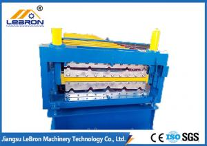 China Yellow Color Double Layer Roll Forming Machine 15-20m/min 11m x 1.7m x 1.5m on sale