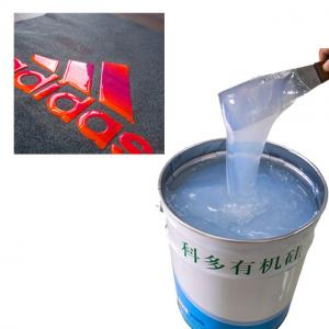 China FDA 38 Shore A Hardness Screen Printing Silicone Ink on sale