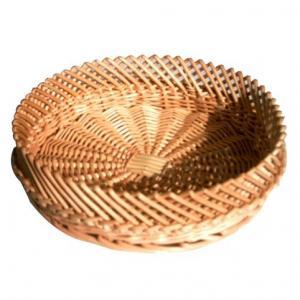 China 31802 wicker basket, bread basket, food basket, wicker round basket on sale
