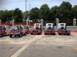 4 x 2 10m camión de basura del acuerdo del ³ SINOTRUK HOWO con la presión hydráulica