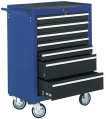 China GD-095 steel cutter trolley high-temperature curing Tool Chest Roller Cabinet on sale